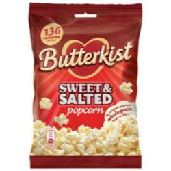 Butterkist sweet and salted