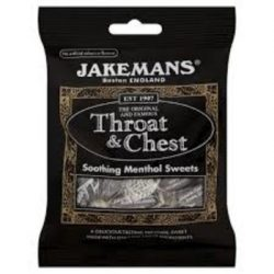 jakemans throat