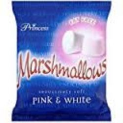 pink and white mallow