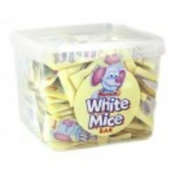 wrapped white mice