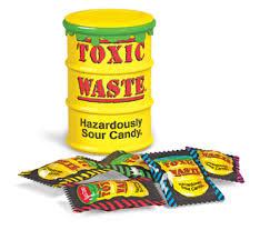 yellow toxic individual