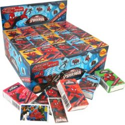 Spiderman candy stick