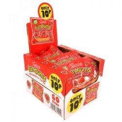 strawb tart fun gum